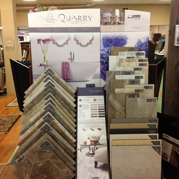 Stop by to see our extensive flooring selection at Quality Floors & Interiors in Spokane