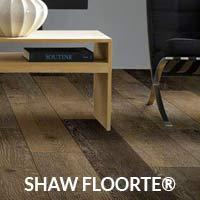 Shaw floorte waterproof flooring on sale this month at Quality Floors & Interiors in Spokane!